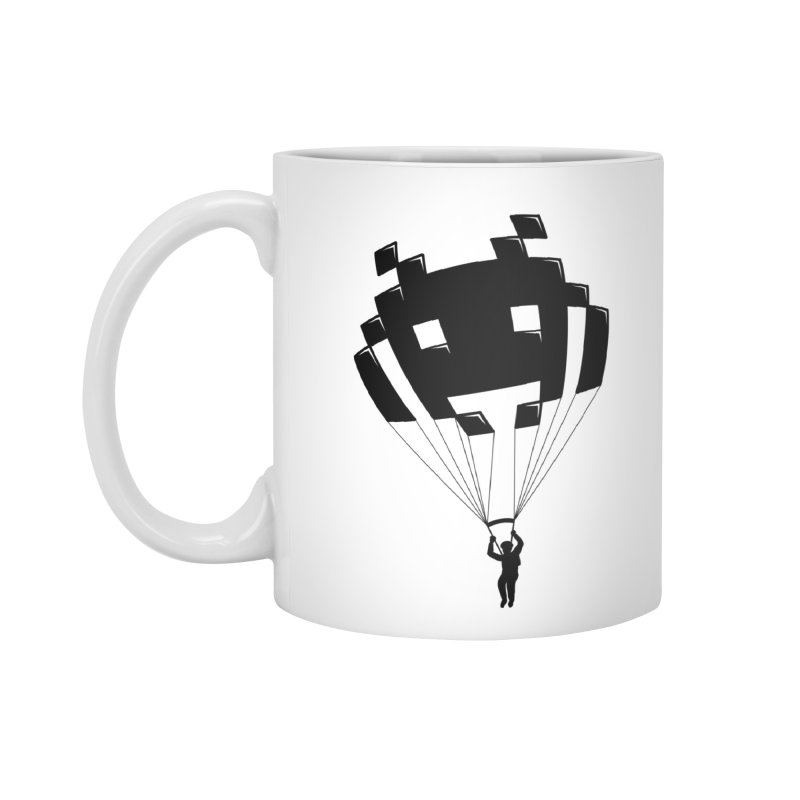 Invader Accessories Standard Mug by Cedric Lopez Fernandez
