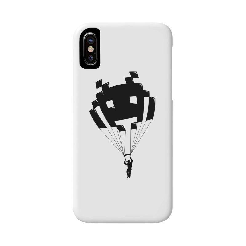 Invader Accessories Phone Case by Cedric Lopez Fernandez