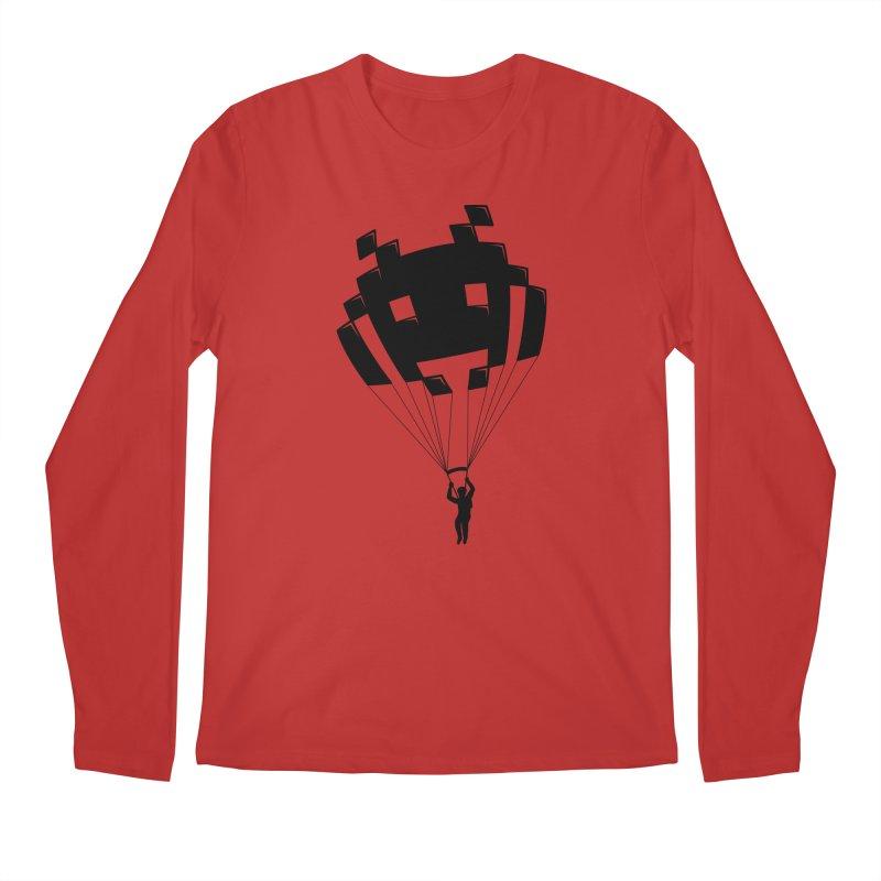 Invader Men's Longsleeve T-Shirt by Cedric Lopez Fernandez