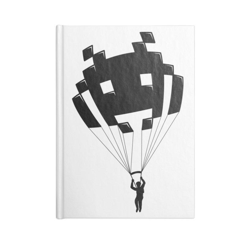 Invader Accessories Blank Journal Notebook by Cedric Lopez Fernandez