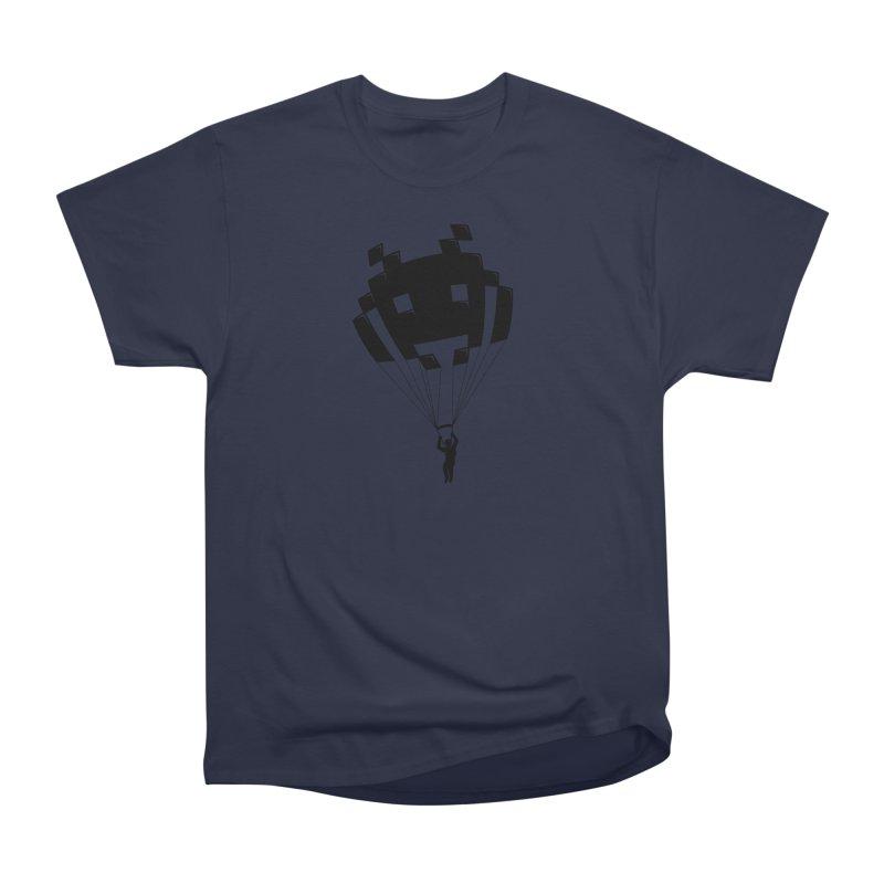Invader Men's Heavyweight T-Shirt by Cedric Lopez Fernandez