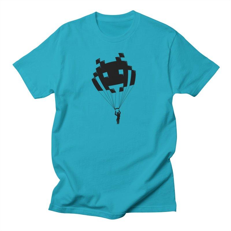 Invader Women's Regular Unisex T-Shirt by Cedric Lopez Fernandez