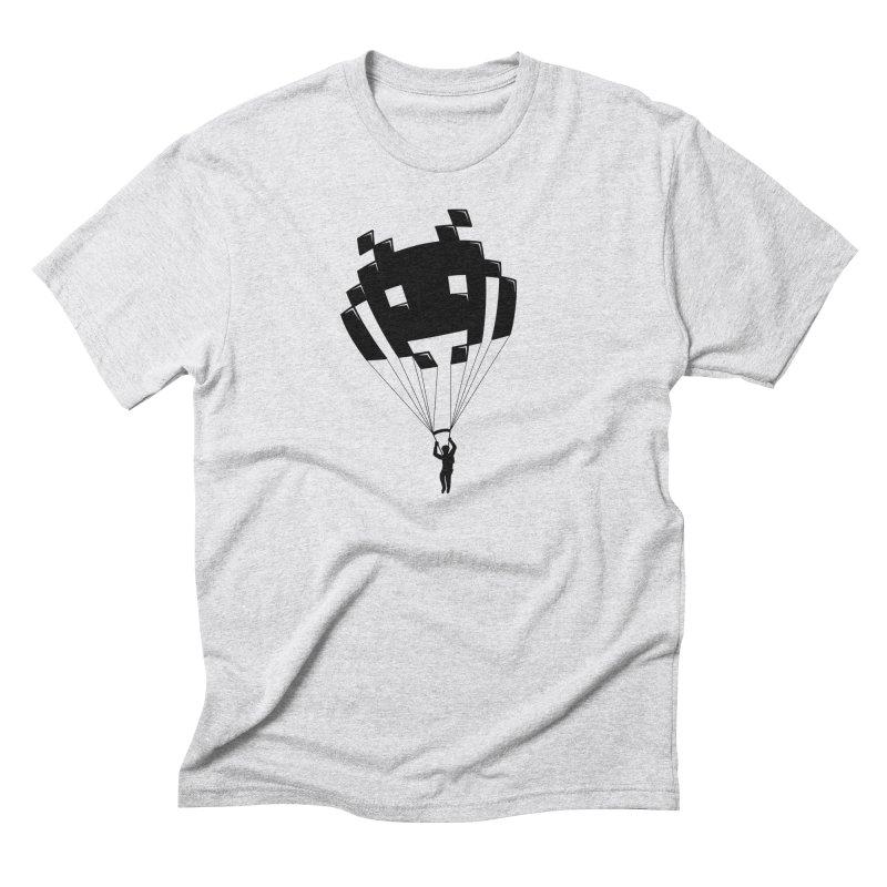 Invader Men's Triblend T-Shirt by Cedric Lopez Fernandez