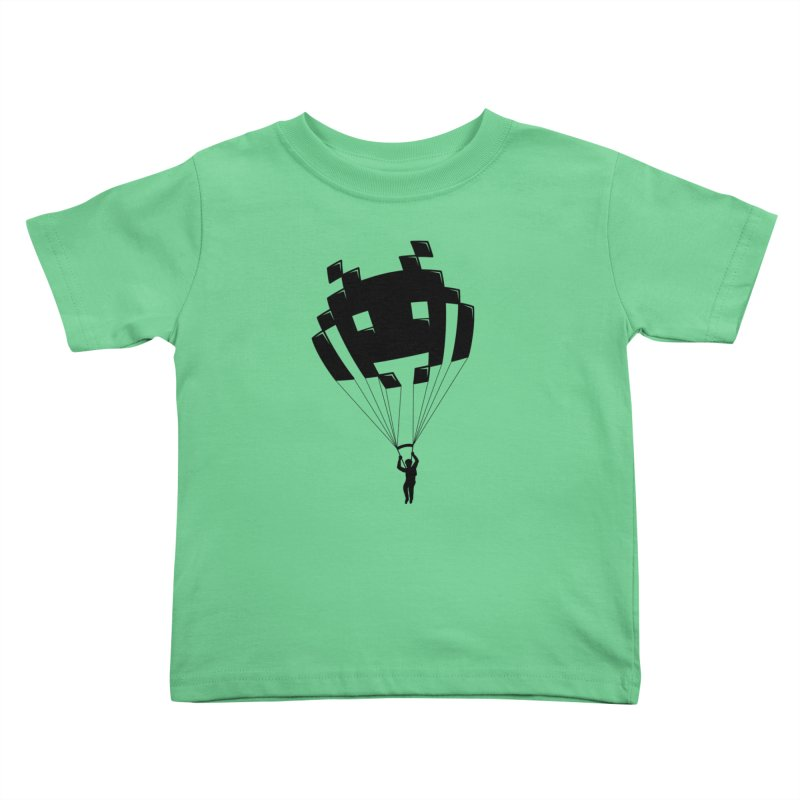 Invader Kids Toddler T-Shirt by Cedric Lopez Fernandez
