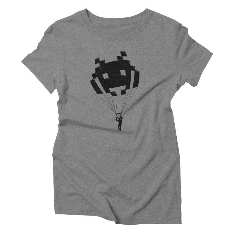 Invader Women's Triblend T-Shirt by Cedric Lopez Fernandez