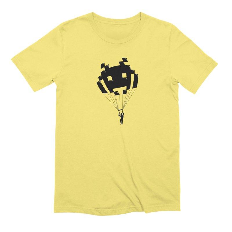 Invader Men's Extra Soft T-Shirt by Cedric Lopez Fernandez