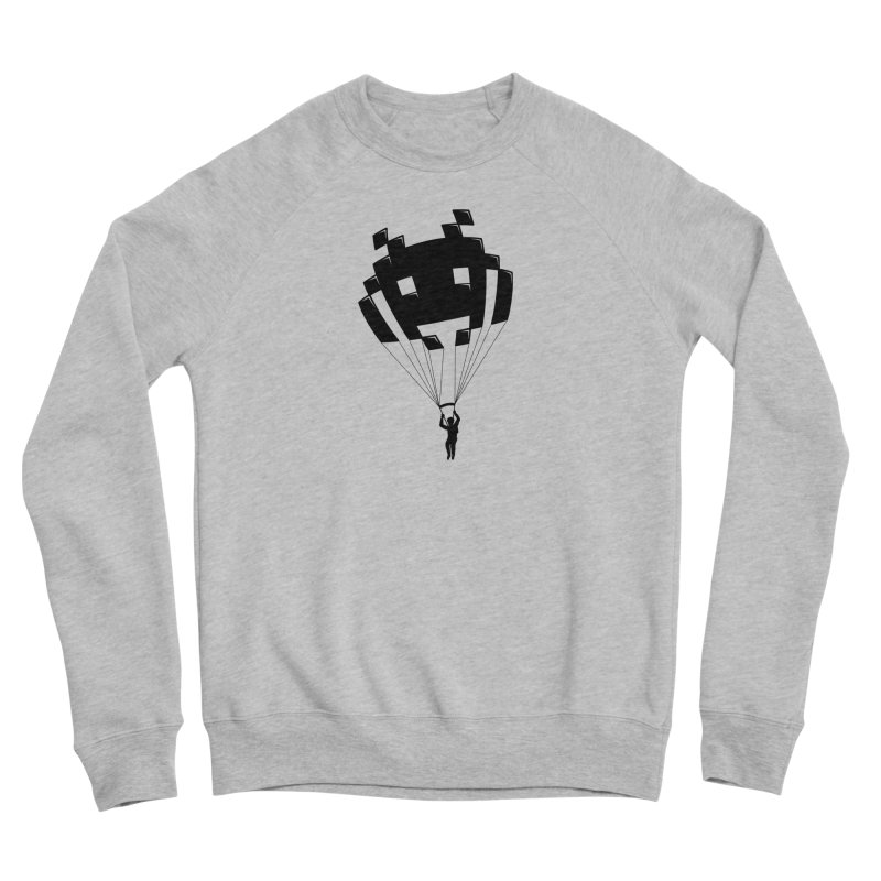 Invader Women's Sponge Fleece Sweatshirt by Cedric Lopez Fernandez