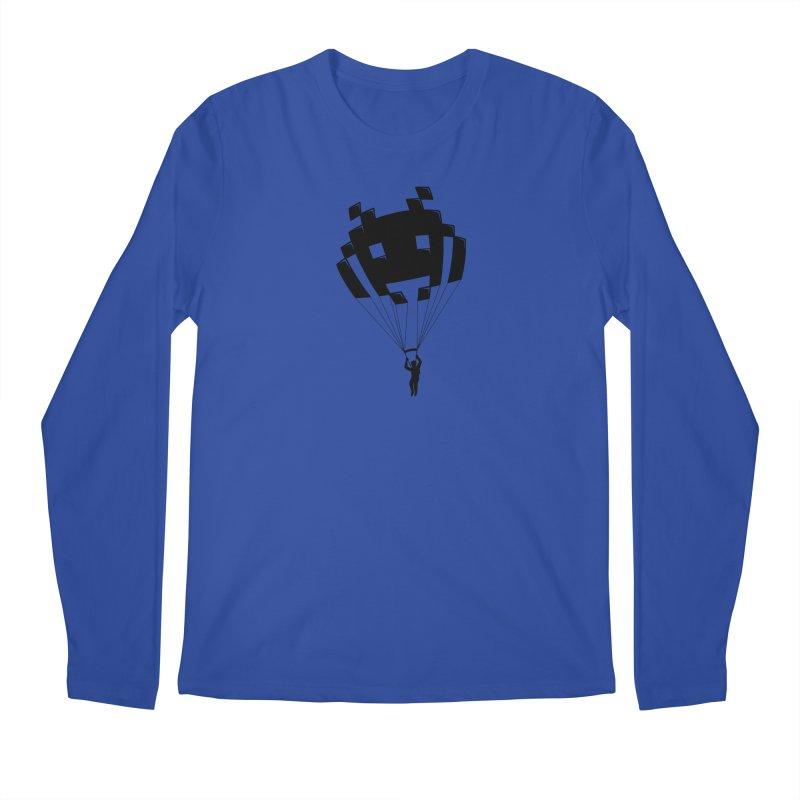Invader Men's Regular Longsleeve T-Shirt by Cedric Lopez Fernandez