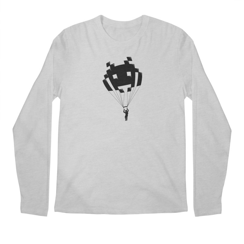 Invader Men's Regular Longsleeve T-Shirt by Cedric Lopez Fernandez