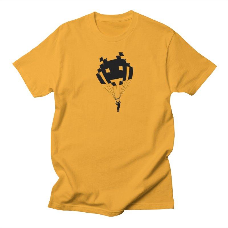Invader Men's Regular T-Shirt by Cedric Lopez Fernandez