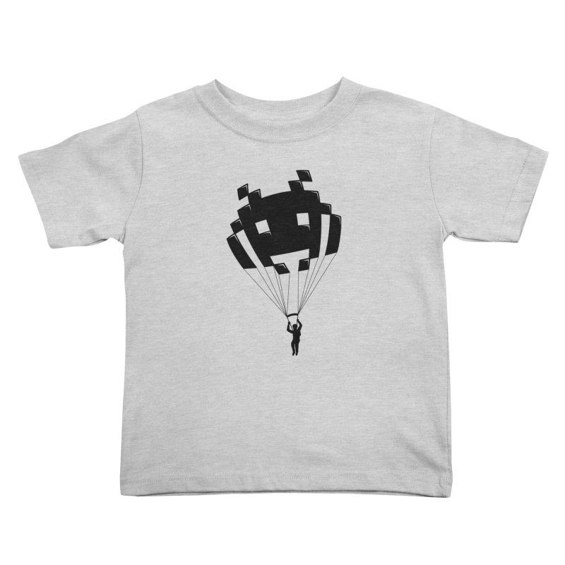 Invader Kids Toddler T-Shirt by Cedric Lopez Fernandez