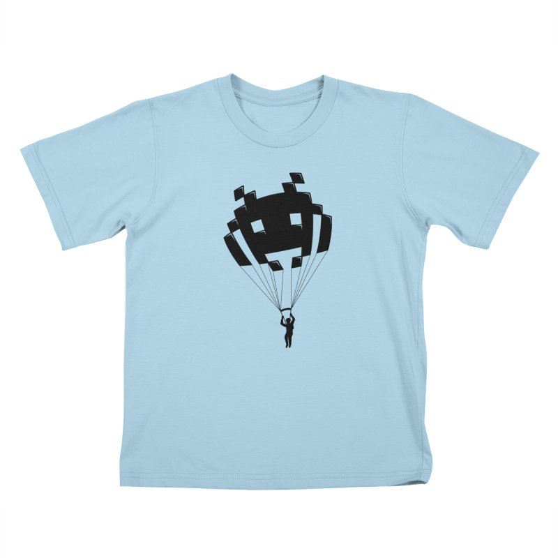 Invader Kids T-Shirt by Cedric Lopez Fernandez