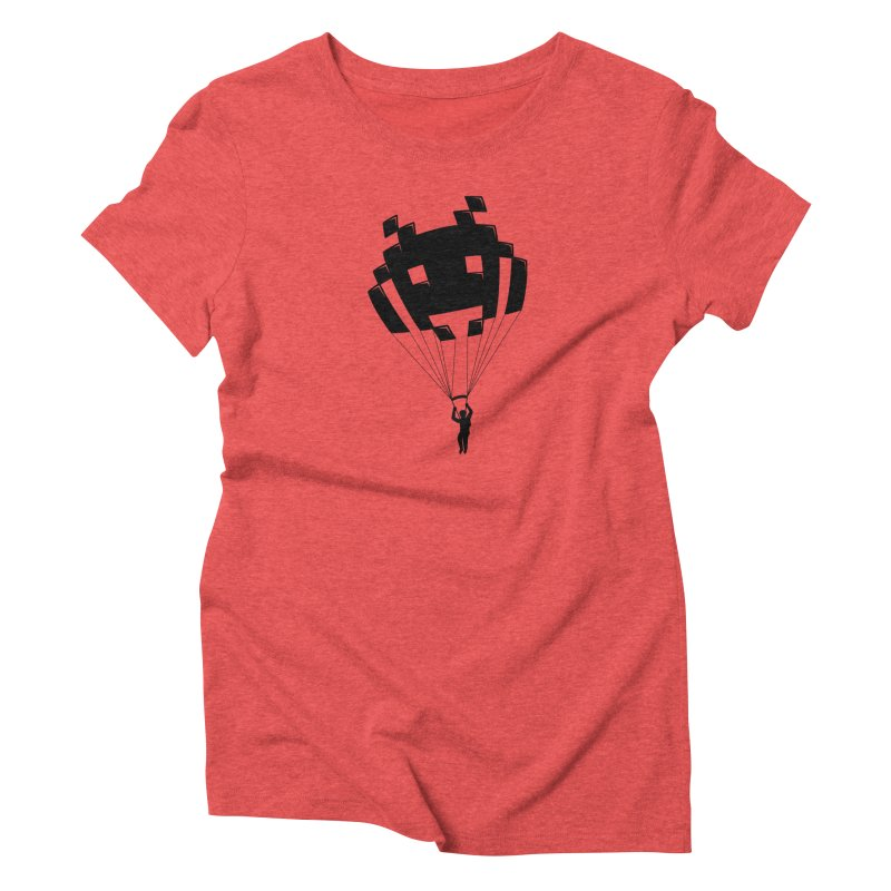 Invader Women's Triblend T-Shirt by Cedric Lopez Fernandez
