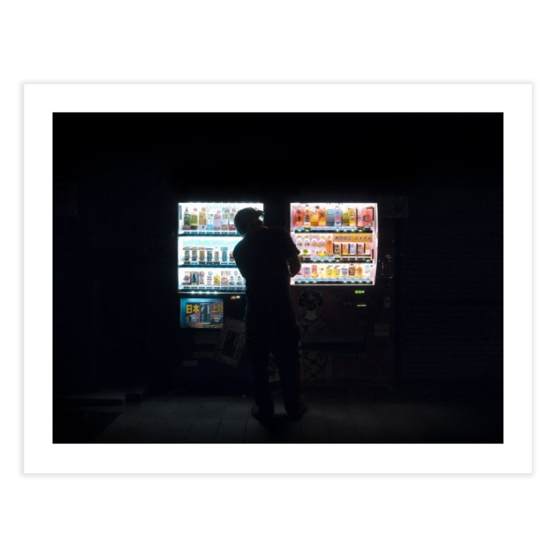 Vending Machine Home Fine Art Print by Cedric Lopez Fernandez