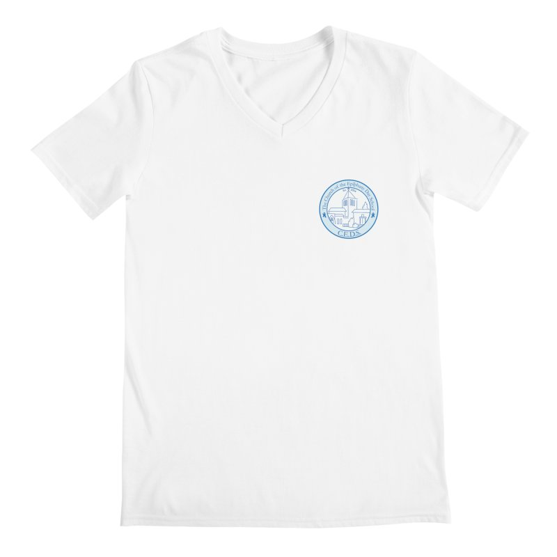 CEDS Gear Men's V-Neck by The Church of Epiphany Day School Store