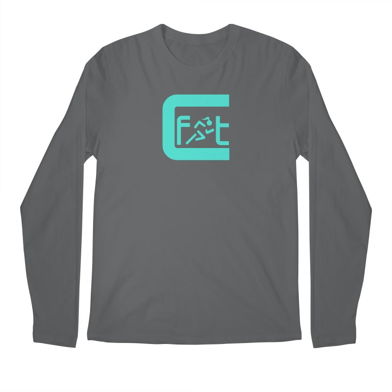 CelesteFit logo Men's Regular Longsleeve T-Shirt by celestefit's Artist Shop