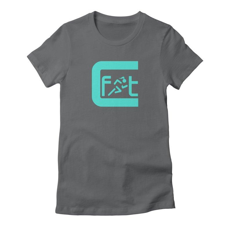 CelesteFit logo Women's Fitted T-Shirt by celestefit's Artist Shop