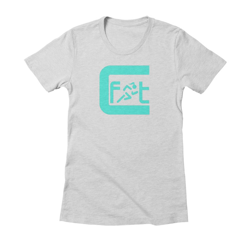 CelesteFit logo Women's Fitted T-Shirt by celestefit's Artist Shop