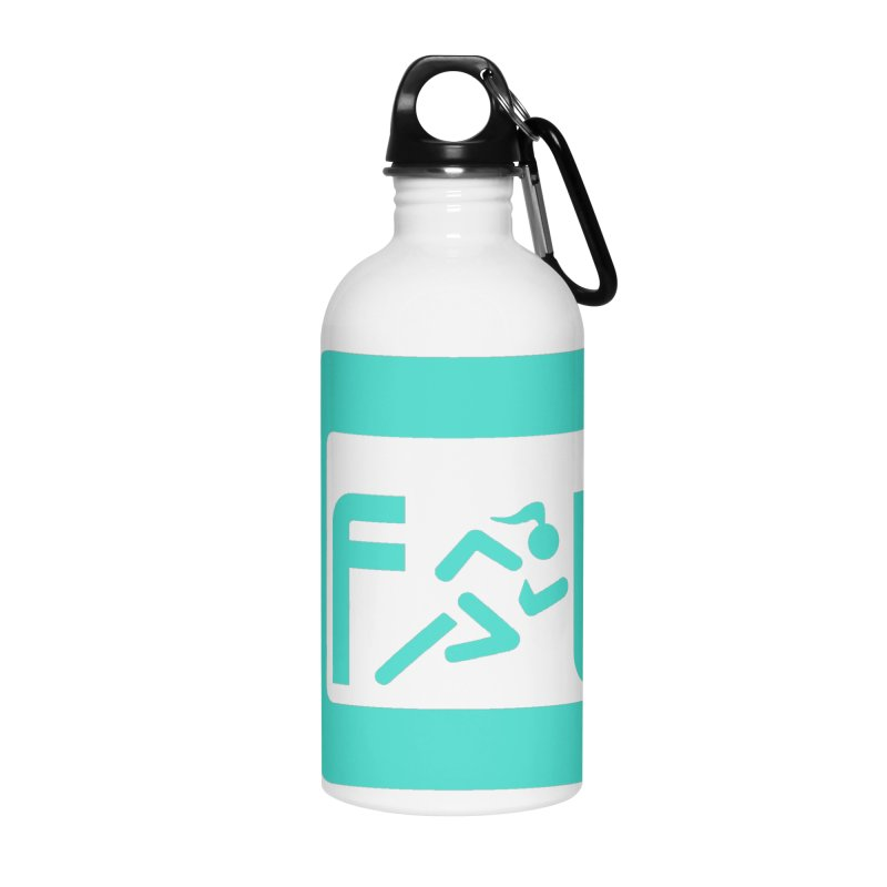 CelesteFit logo in Water Bottle by celestefit's Artist Shop