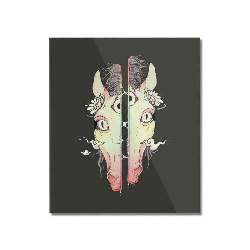 image for Split Face Horse, Surreal Artwork