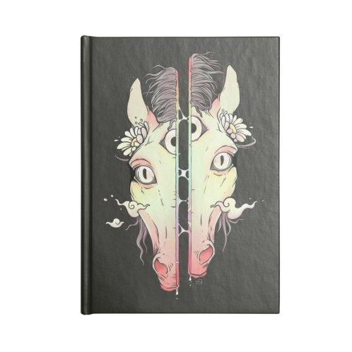 image for Split Face Horse, Surreal Artwork