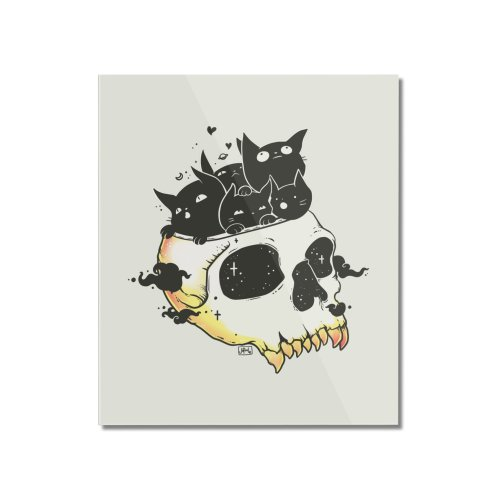 image for Skull Full Of Black Cat Kittens