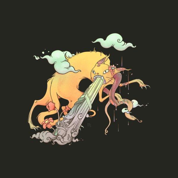 image for Strange Cat And Snake Surreal Art