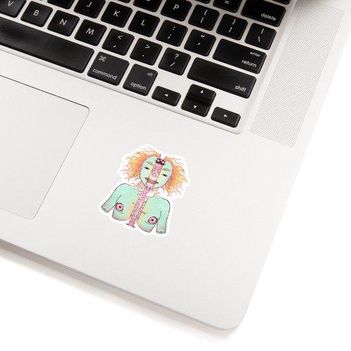 image for Split Skeleton Girl With Cat Head
