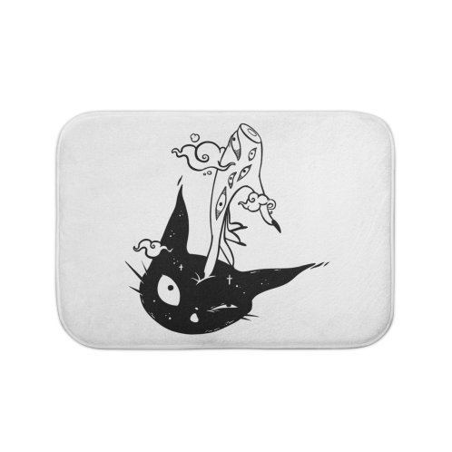 image for Cute Black Cat Head And Witch Hand