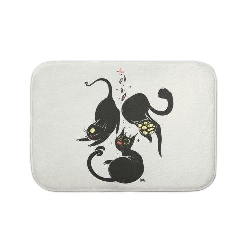 image for Three Weird Cats. Gothic Dark Art