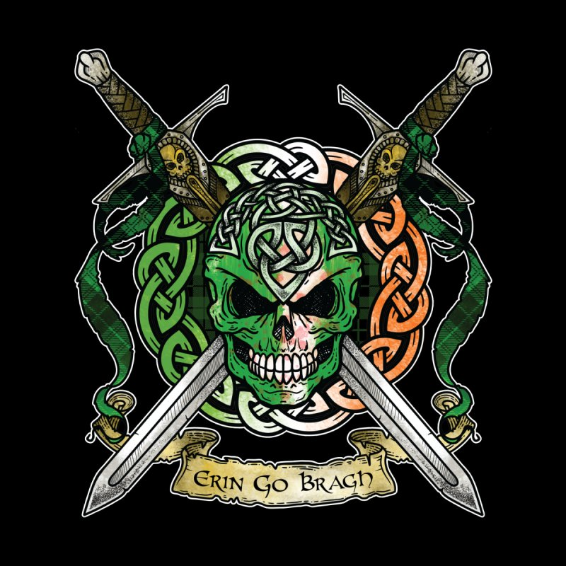 Celtic Warrior: Ireland Women's T-Shirt by Celtic Hammer Club