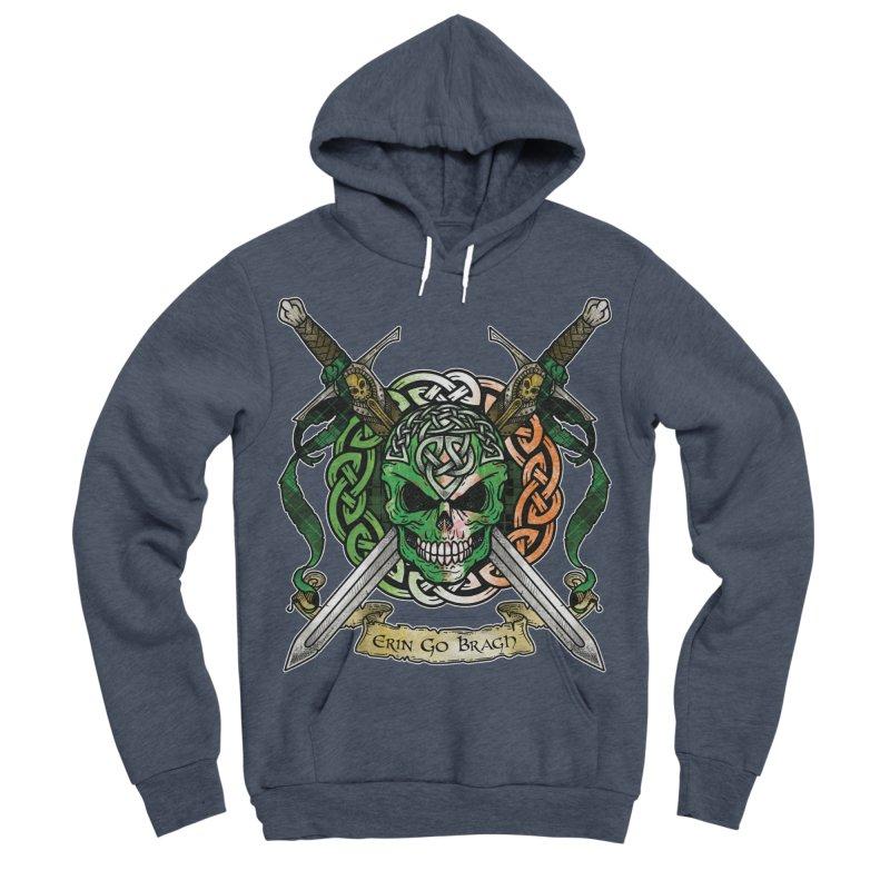 Celtic Warrior: Ireland Women's Sponge Fleece Pullover Hoody by Celtic Hammer Club