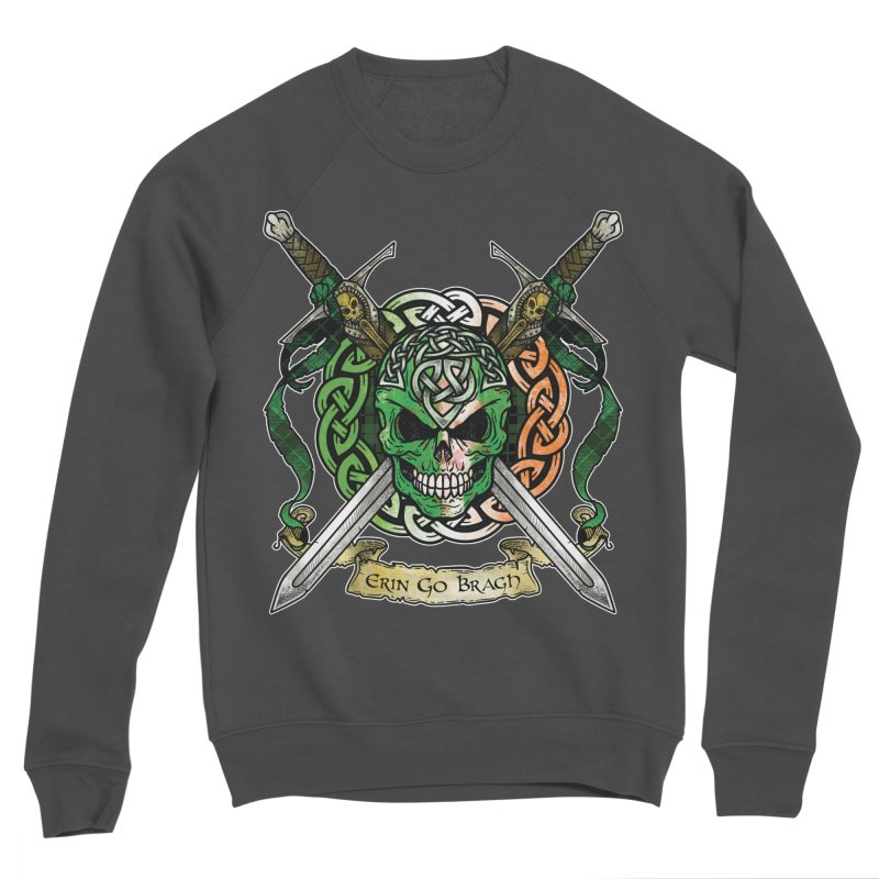 Celtic Warrior: Ireland Women's Sponge Fleece Sweatshirt by Celtic Hammer Club