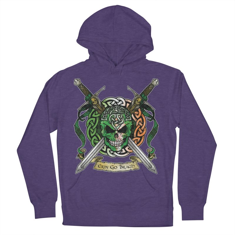 Celtic Warrior: Ireland Women's French Terry Pullover Hoody by Celtic Hammer Club