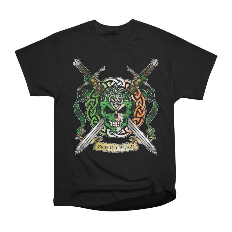 Celtic Warrior: Ireland Women's Heavyweight Unisex T-Shirt by Celtic Hammer Club