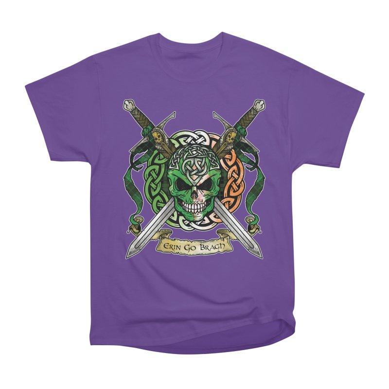 Celtic Warrior: Ireland Men's Heavyweight T-Shirt by Celtic Hammer Club