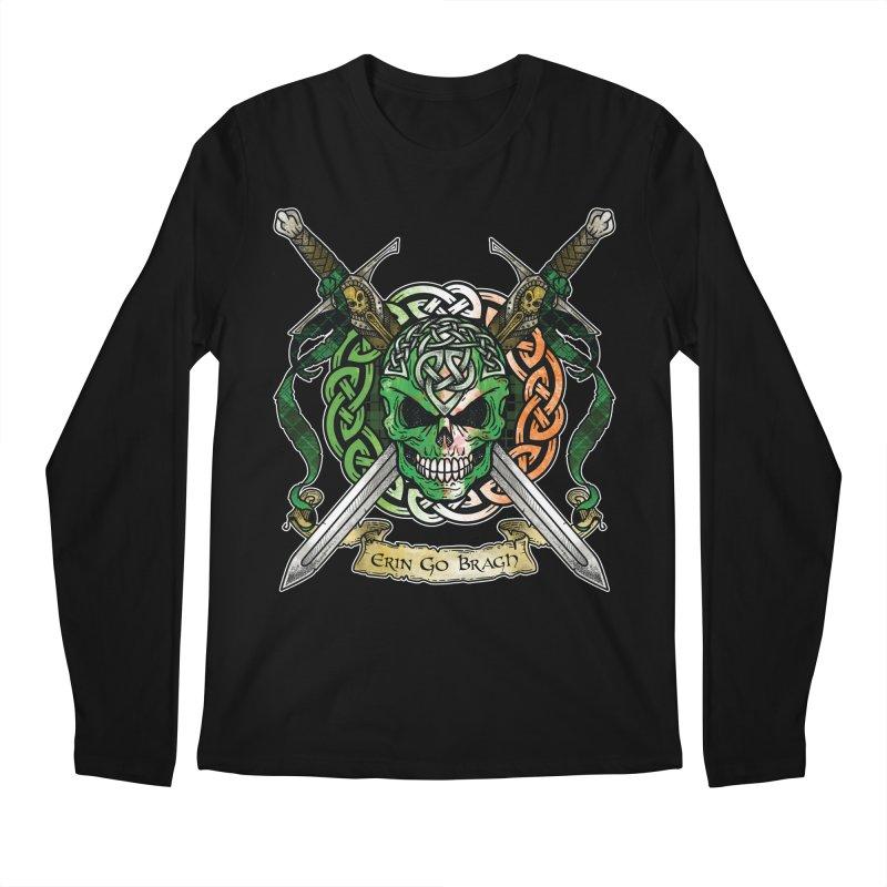 Celtic Warrior: Ireland Men's Regular Longsleeve T-Shirt by Celtic Hammer Club