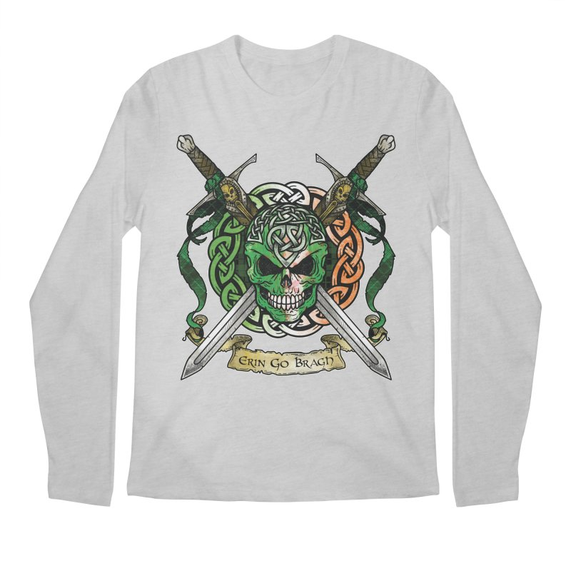Celtic Warrior: Ireland Men's Regular Longsleeve T-Shirt by Celtic Hammer Club