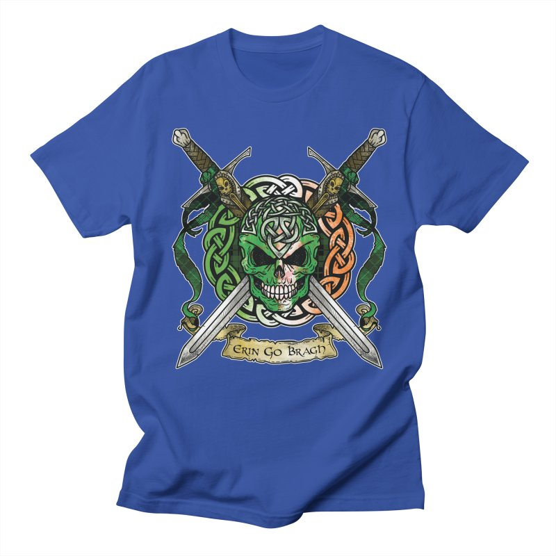 Celtic Warrior: Ireland Women's Regular Unisex T-Shirt by Celtic Hammer Club