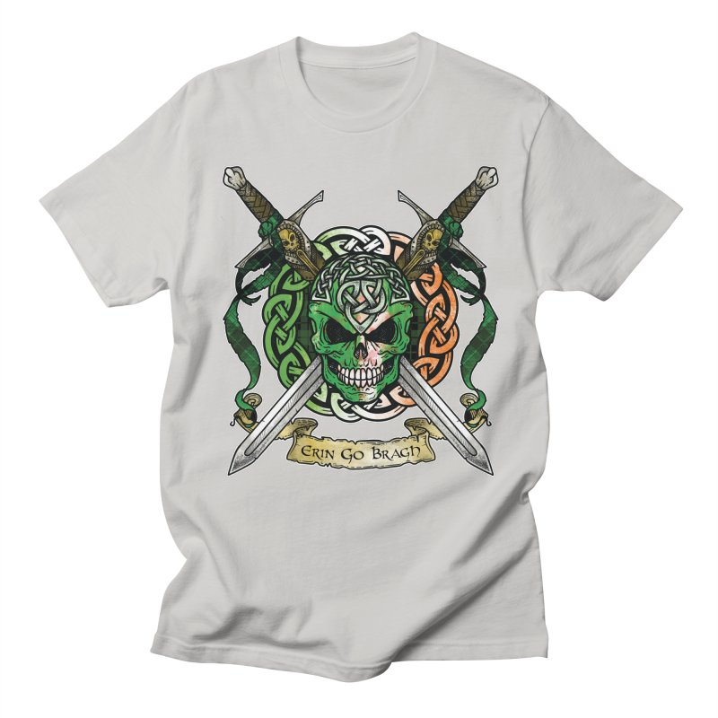 Celtic Warrior: Ireland Women's Regular Unisex T-Shirt by Celtic Hammer Club
