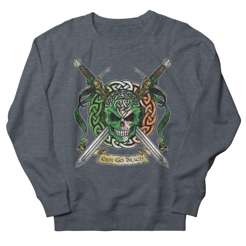Celtic Warrior: Ireland Women's French Terry Sweatshirt by Celtic Hammer Club