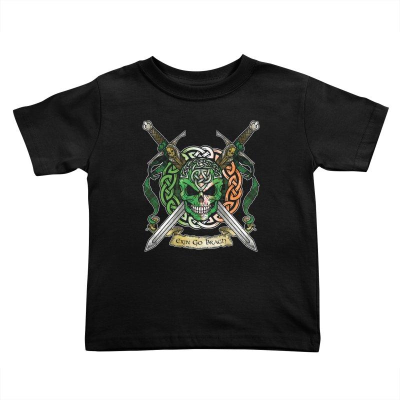 Celtic Warrior: Ireland Kids Toddler T-Shirt by Celtic Hammer Club