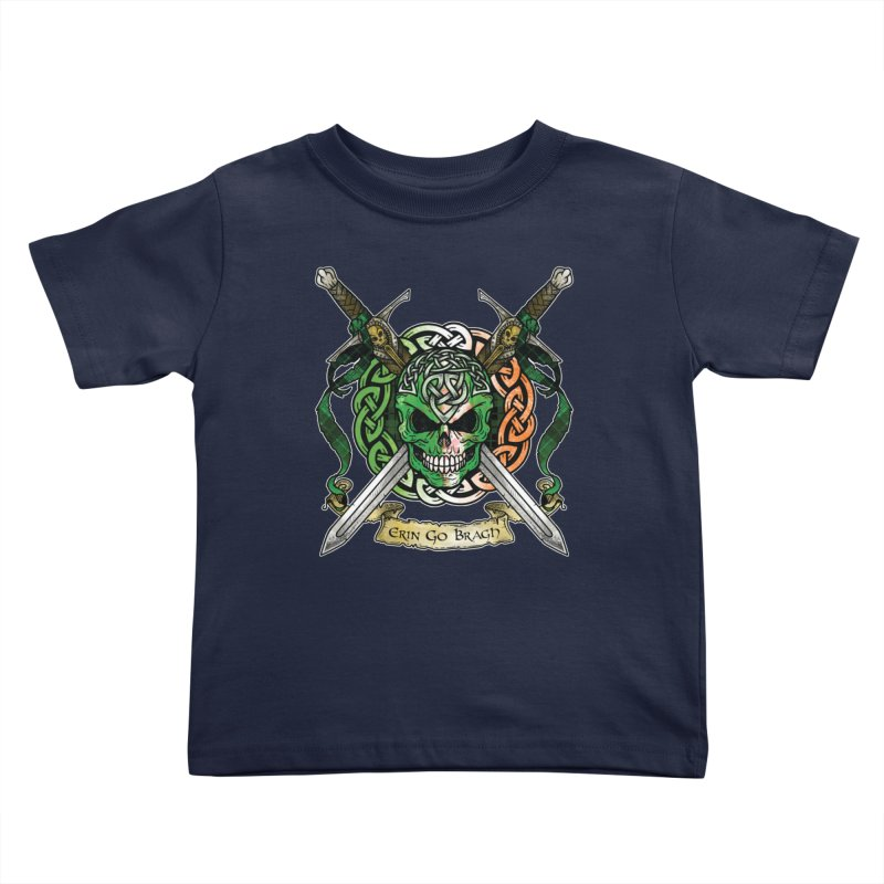 Celtic Warrior: Ireland Kids Toddler T-Shirt by Celtic Hammer Club