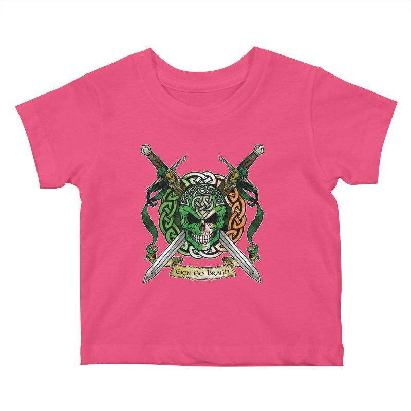Celtic Warrior: Ireland Kids Baby T-Shirt by Celtic Hammer Club
