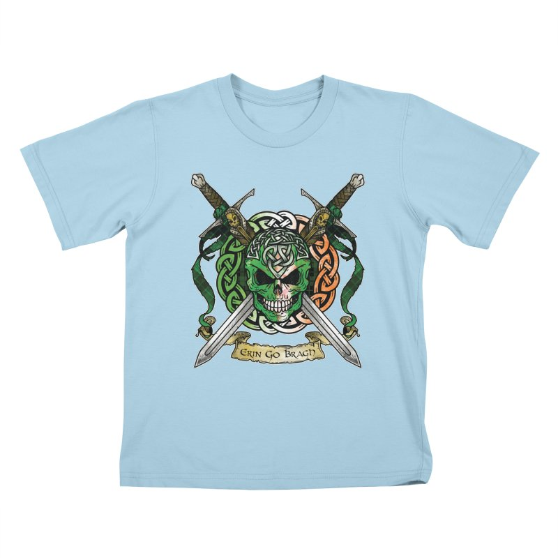 Celtic Warrior: Ireland Kids T-Shirt by Celtic Hammer Club