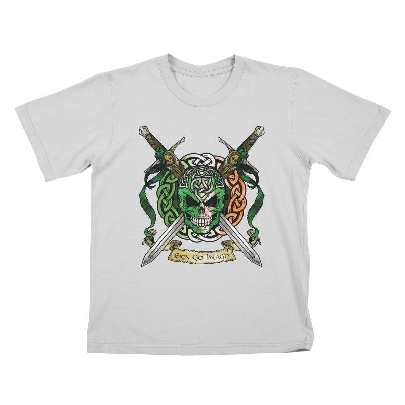 Celtic Warrior: Ireland Kids T-Shirt by Celtic Hammer Club