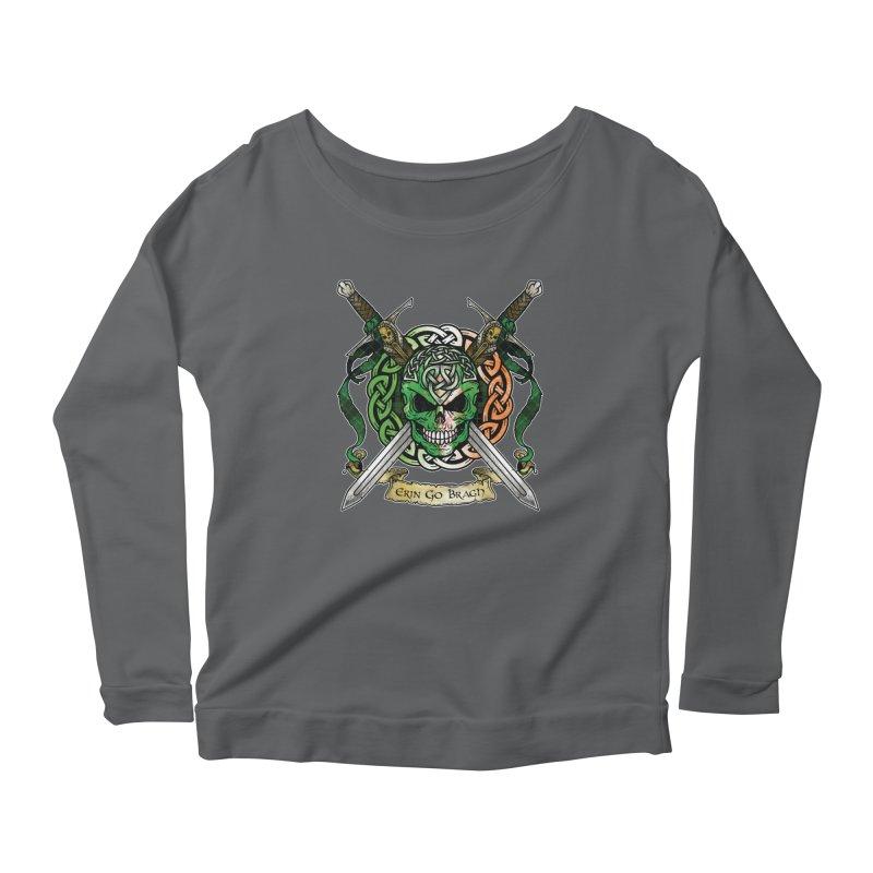 Celtic Warrior: Ireland Women's Longsleeve T-Shirt by Celtic Hammer Club