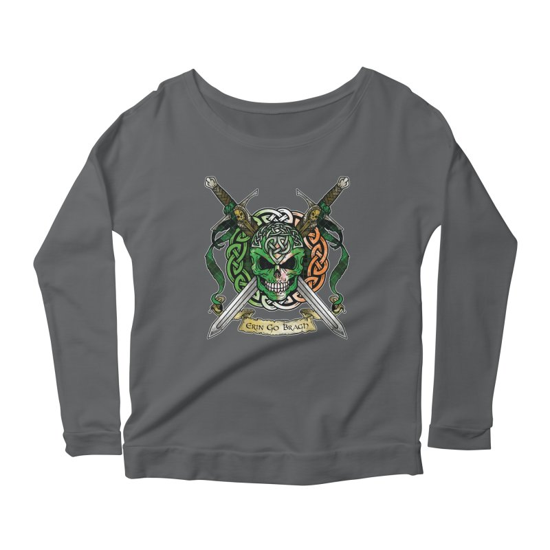 Celtic Warrior: Ireland Women's Longsleeve T-Shirt by Celtic Hammer Club
