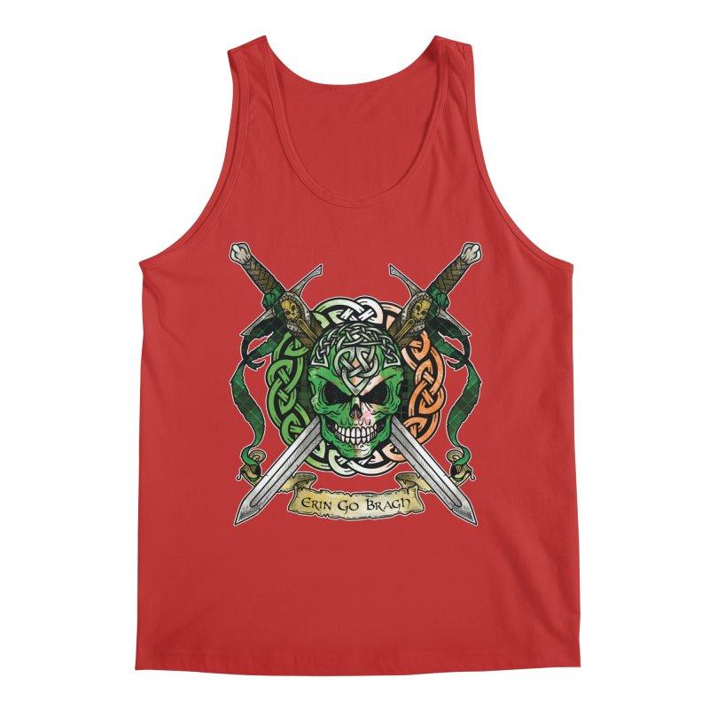 Celtic Warrior: Ireland Men's Regular Tank by Celtic Hammer Club