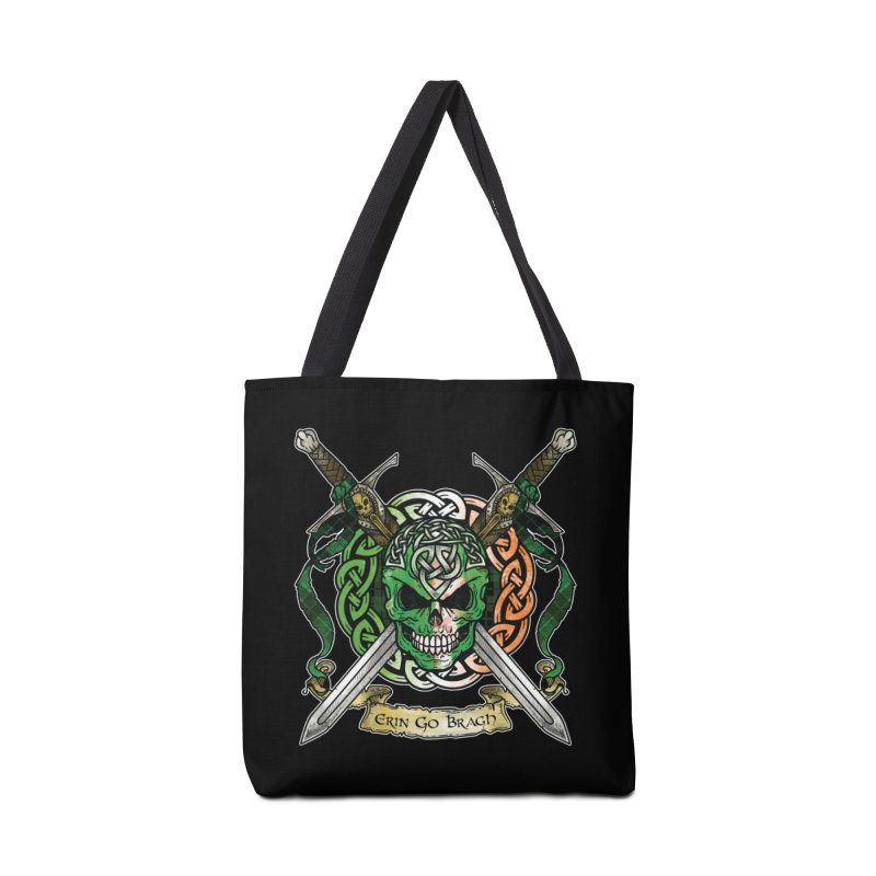 Celtic Warrior: Ireland Accessories Tote Bag Bag by Celtic Hammer Club